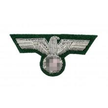Eagle for Heer officer peaked- or side-cap