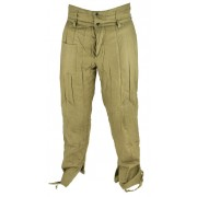 Padded qilted cottonwool pants for Telogrejka