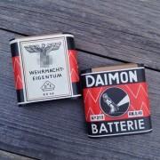 Battery Daimon 4.5 V for a flashlight