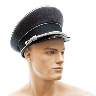 Luftwaffe officers peaked cap no insignia