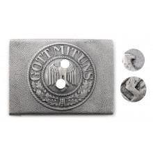 Heer aluminum buckle