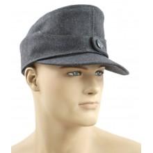 Cap 1943 blue-gray single button Replika