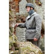 Luftwaffe winter jacket gray rectangular stitch