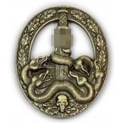 Anti-partisan badge in bronze