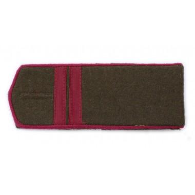 RKKA shoulder boards: junior sergeant of infantry