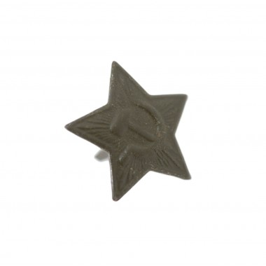 Star for USSR side-cap 24 mm green