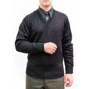 Sweater pullover V-neck