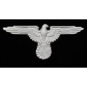SS peaked cap eagle silver metal variant 1