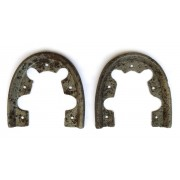 German soldier iron-heels in convenient condition
