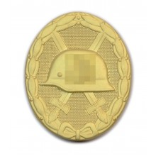 Wound badge gold