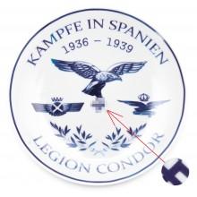 Plate Legion Condor, war in Spain 1936-1939