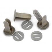 Steel split-pins for German helmet
