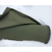 Material fabric for German mountain windbreakers backpacks olive