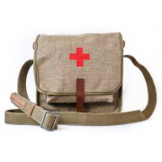 RKKA medical bag with a red cross