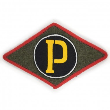 Red Army traffic-controll patch insignia