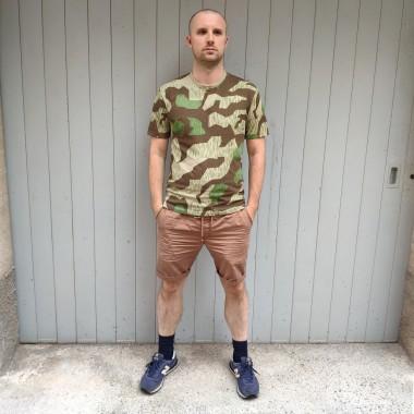 T-shirt Splinter camo O-collar