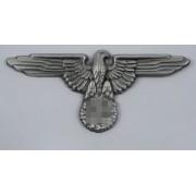 SS peaked cap eagle patina metal variant 2