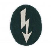 Heer infantry signal insignia for sleeve or headdress