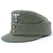 Heer Jäger cap with insignia - by Replika