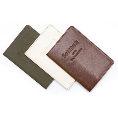 Case cover for passport styled as Soldbuch