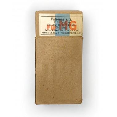 Box for cartridges for the German machine gun original