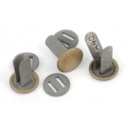 Transition split-pins for German helmet