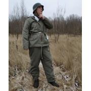 Winter jacket field-gray feldgrau parka Waffen-SS 1942-45