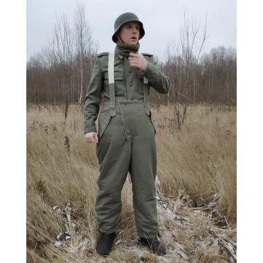 Winter trousers pants gray-green feldgrau 1942-45