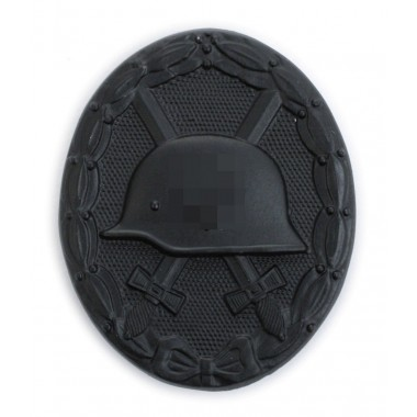 Wound badge black