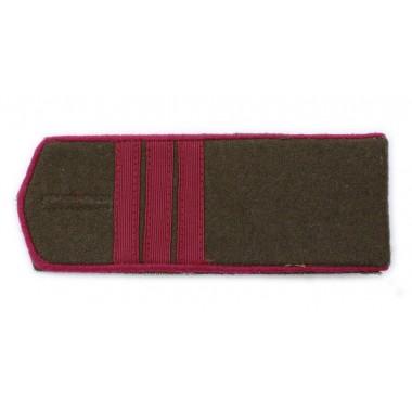 RKKA shoulder boards: sergeant of infantry