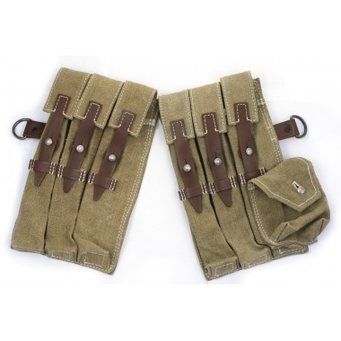 Late pouch MP-38/40 brown leather