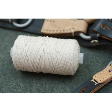 Cotton thread for leather