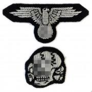 Bullion SS officer peaked-cap kit