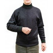 Sweater pullover turtleneck high neck