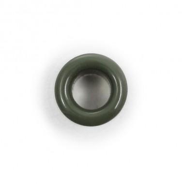 Field-gray eyelet block for German field cap