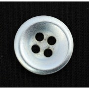 Steel button for clothes