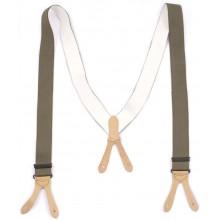 Suspenders for German trousers V-shape