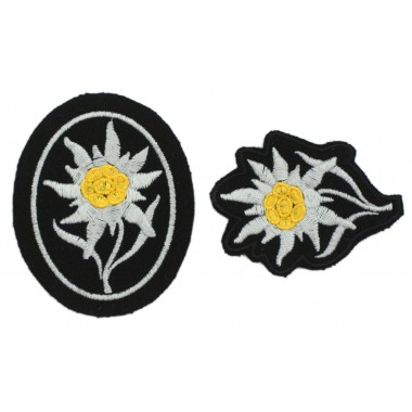 SS mountain troops' insignia — Edelweiss