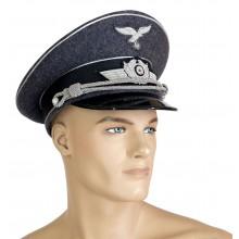 Luftwaffe officers peaked cap
