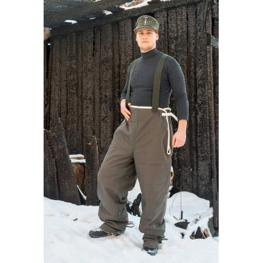 SS pants for fur parka