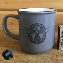 Police Feldgendarmerie mug gray 300 ml