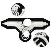 SS sleeve eagle embroidery