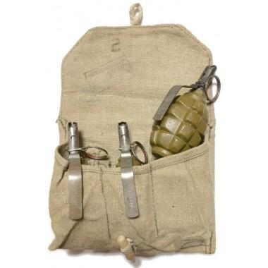 Original bag for three F-1 grenades #1
