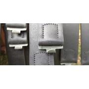 Waffen-SS waist belt black thread