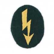 Heer signal insignia for sleeve or headdress