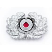 Metal eagle for Heer officer peaked-cap