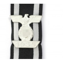 Iron Cross 2nd class ribbon with bar