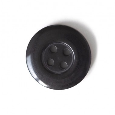 Button 22 mm 4 holes plastic for clothing