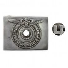 Waffen-SS steel buckle variant 1