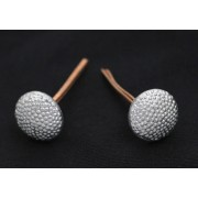 Buttons (pins) for peaked-cap silver